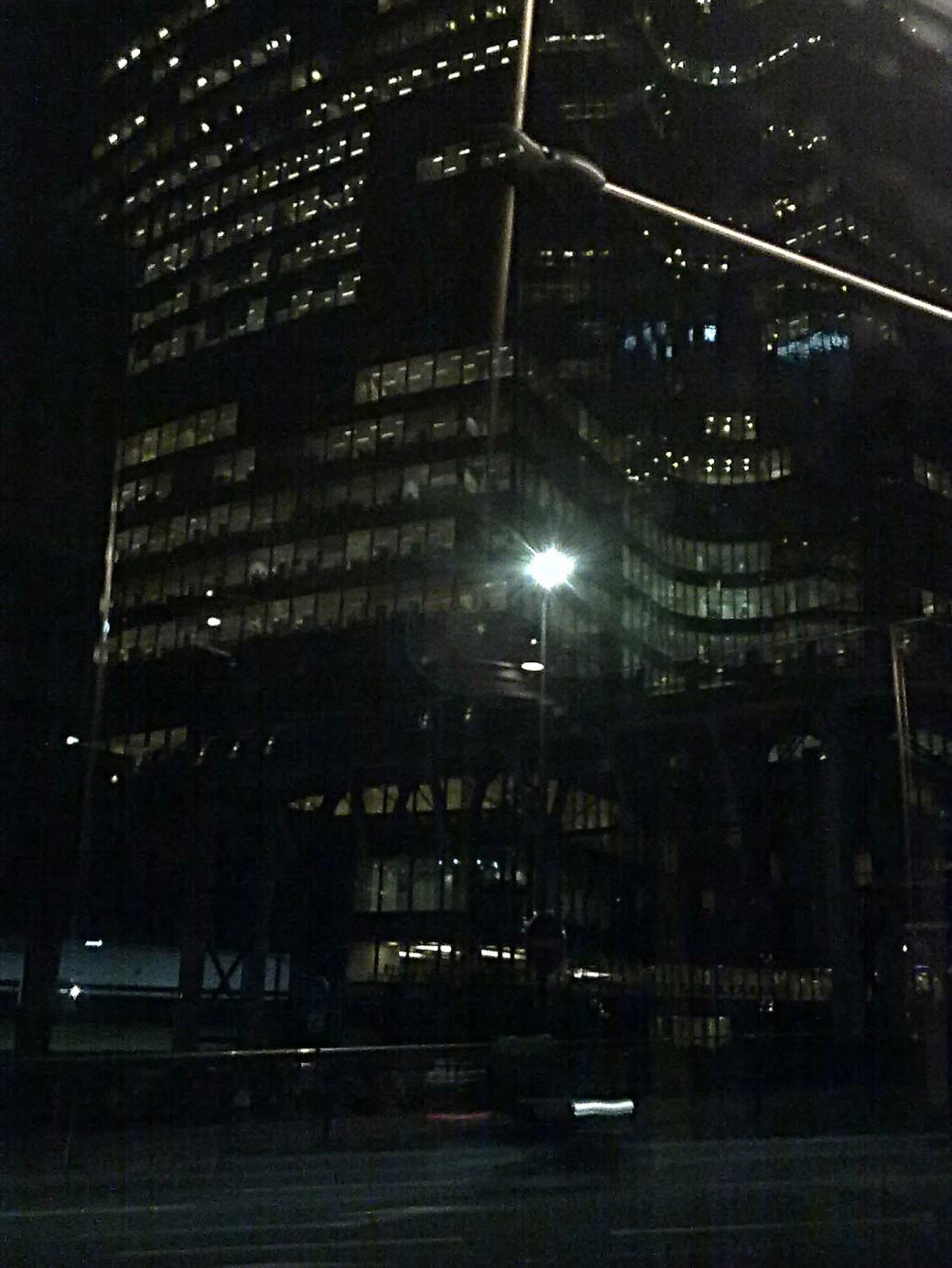 CLG - La Défense de nuit